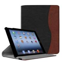 Fintie Rotating Case for iPad 4 3 2 (Old Model) - 360 Degree Rotating Smart Stand Protective Cover with Auto Wake/Sleep for iPad 4th Gen with Retina Display, iPad 3 & iPad 2, Dual Color