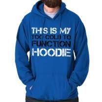 Classic Teaze Too Cold Hoodie Cute Winter Cuddle Hoodie Hoodie