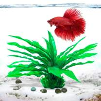 LUFFY Plastic Java Fern (Without Yellow-Colored Grass)