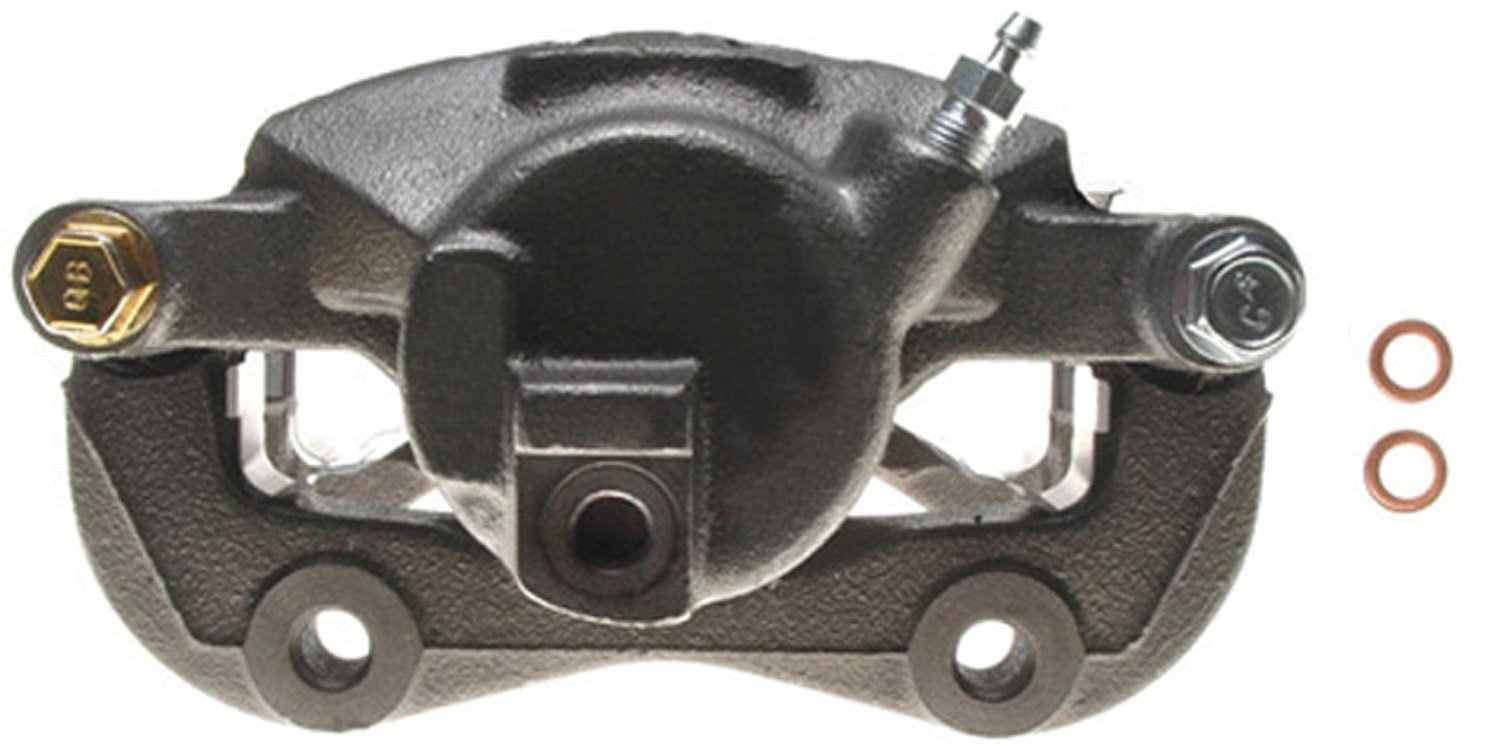 ACDelco 18FR976 Professional Front Passenger Side Disc Brake Caliper Assembly without Pads (Friction Ready Non-Coated), Remanufactured