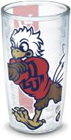 Tervis 1196896 Liberty University Colossal Wrap Individual Tumbler, 16 oz, Clear
