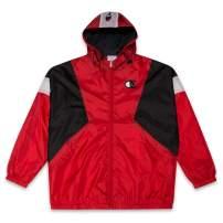 Champion Jackets Big and Tall Zip Up Hooded Nylon Windbreaker rain Men Jacket