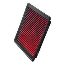 Upgr8 U8701-1504 Hd PRO OEM Replacement High Performance Dry Drop-in Panel Air Filter Red