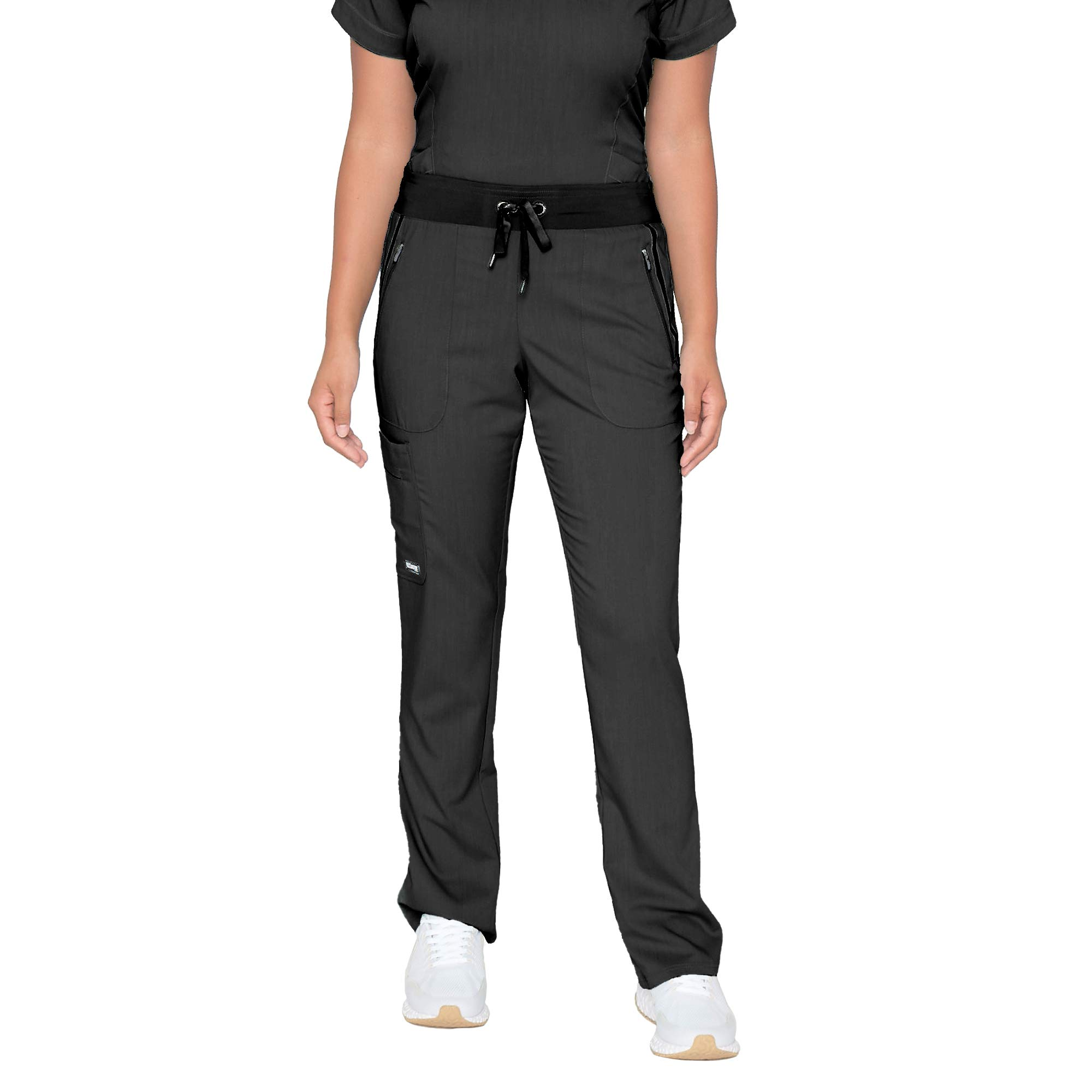 BARCO Grey's Anatomy Impact Women's Elevate Pant, Medical Scrub Pant w/Spandex Stretch & 6 Pockets