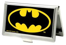Buckle-Down Business Card Holder - Batman Black/Yellow - Small