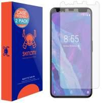 Skinomi Matte Screen Protector Compatible with Google Pixel 4 XL (2-Pack)(Case Compatible) Anti-Glare Matte Skin TPU Anti-Bubble Film