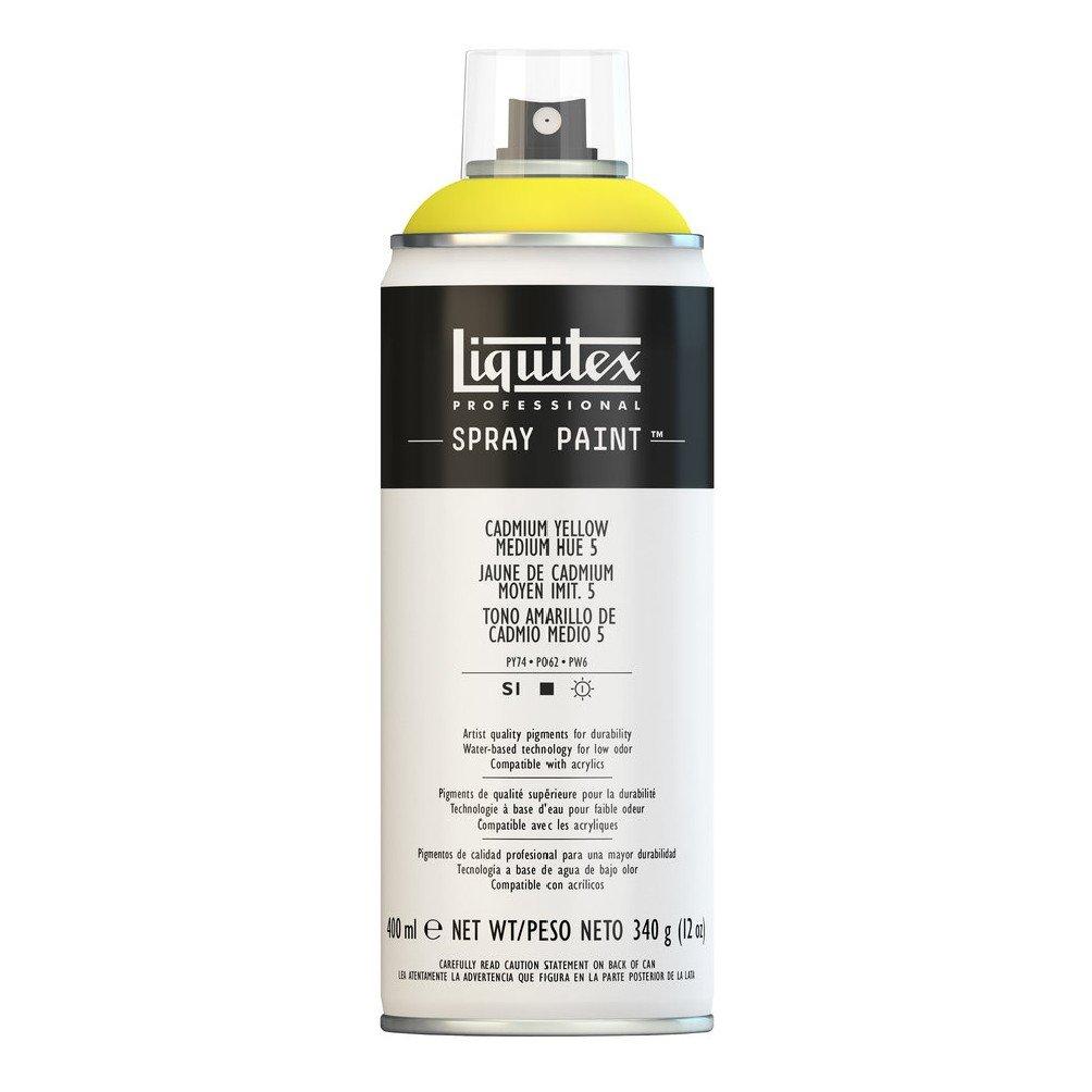 Liquitex Professional Spray Paint, Cadmium Yellow/Medium Hue 5
