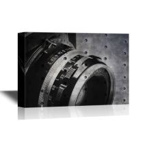 wall26 - Canvas Wall Art - Old Film Camera and Lens - Gallery Wrap Modern Home Decor | Ready to Hang - 12x18 inches