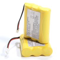 2 Pack Replacement Battery for Vtech Rechargeable Cordless Phone 80-5071-00-00 (800mAh 3 .6V)