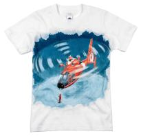 Shirts That Go Little Boys' Helicopter T-Shirt