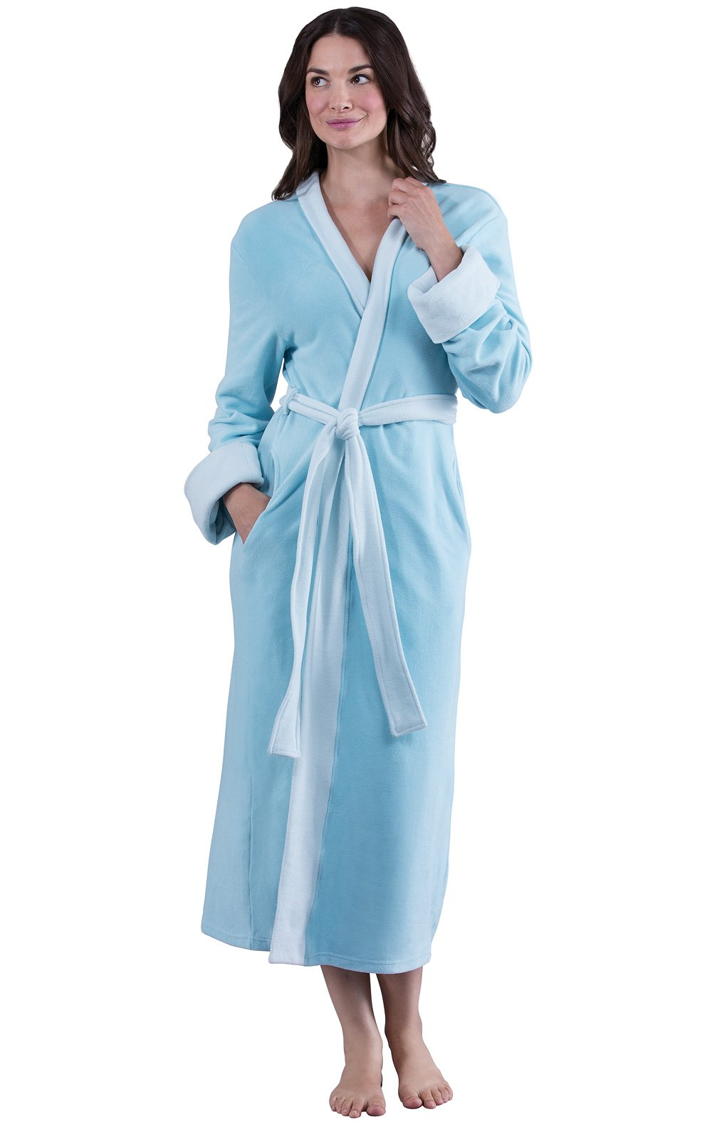 PajamaGram Fleece Robes for Women - Ultra Plush Women's Fleece Robes