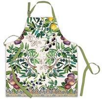 Michel Design Works Cotton Chef Apron, Tuscan Grove