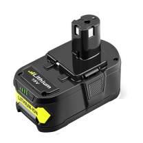 18V 5.0Ah P102 Battery for Ryobi 18V Lithium ONE+ Plus P103 P104 P105 P107 P108 P109 P122 Cordless Tools
