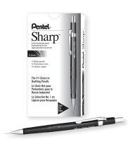 Pentel Sharp Automatic Pencil, 0.5mm Lead Size, Black Barrel(P205A)