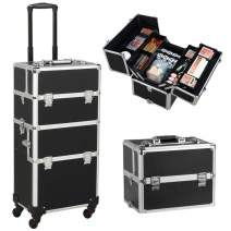 Relavel Travel Makeup Bag Train Case
