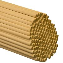 Dowel Rods Wood Sticks Wooden Dowel Rods – 5/16 x 18 Inch Unfinished Hardwood Sticks – for Crafts and DIYers – 100 Pieces by Woodpeckers