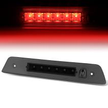 Tinted Housing LED 3rd Third Tail Brake Light Lamp Replacement for Jeep Grand Cherokee WK 05-10