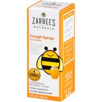 Zarbee's Naturals Children's Cough Syrup with Dark Honey, Natural Grape Flavor, 4 Ounce Bottle