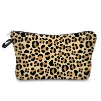 Cosmetic Bag for Women,Loomiloo Adorable Roomy Makeup Bags Travel Waterproof Toiletry Bag Accessories Organizer Liama Gifts (Leopard Print 51465)