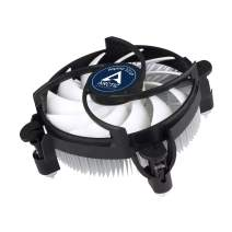 ARCTIC Alpine 12 LP - Low Profile CPU Cooler for Intel Sockets 115x, 92 mm PWM Fan, up to 75 Watts Cooling Power, with Pre-Applied MX-2 Thermal Compound, Easy Installation