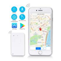 Key Finder Bluetooth Smart Key Tracker Locator GPS Anti-Lost Cell Phone Finder APP Control iOS Android Compatiblewith Key Chain Replaceable Battery for Wallet Pet Luggage Bag