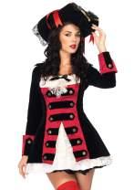 Leg Avenue Women's Charming Pirate Captain Costume