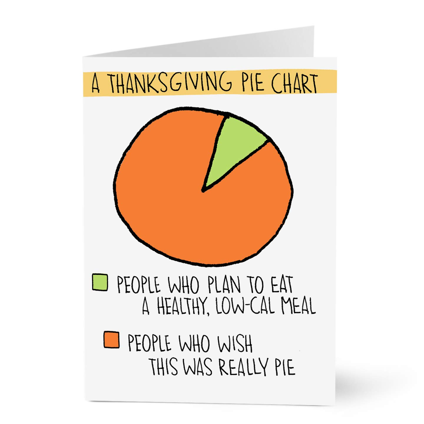 Hallmark Business Thanksgiving Cards for Appreciation (Thanksgiving Pie Chart) (Pack of 25 Greeting Cards)