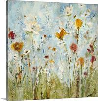 "GREATBIGCANVAS Jill Martin Canvas Wall Art Print Entitled Jounce, 12"" x 12"", None"
