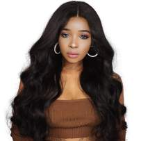 Body Wave Lace Closure Wig Human Hair 4x4 Lace Wigs Shipping African American Glueless Wigs With Baby Hair Free Part Wet And Wavy Real Prime Cheap For Black Women Same Day Delivery 20 inch