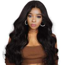 4x4 Human Hair Wig Lace Closure Glueless Body Wave Lace Front Wigs Free Part With Baby Hair Glueless Brazilian Short Wigs 100% Clearance Amazon Prime Wigs For Black Women 12 Inch