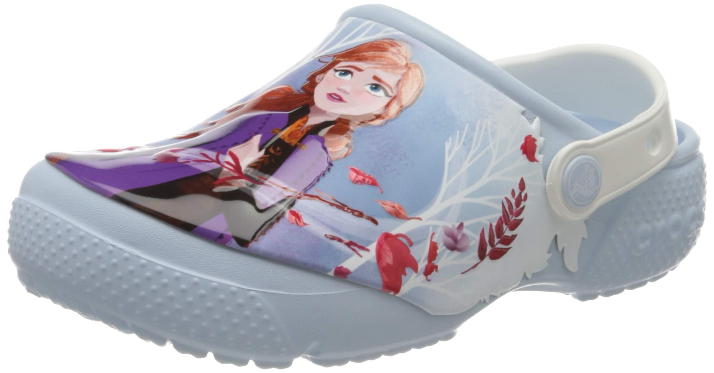Crocs Kids Frozen 2 Clog|Water Shoe for Toddlers, Boys, Girls|Slip on Sandal