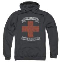 Bon Jovi Rock Band Pullover Hoodie Sweatshirt & Stickers