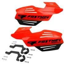 Fastway Flak Shields - Flo Orange