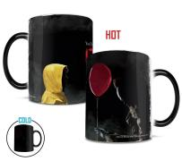 Morphing Mugs IT The Movie Pennywise and Georgie Heat Reveal Horror Film Ceramic Coffee Mug - 11 Ounces