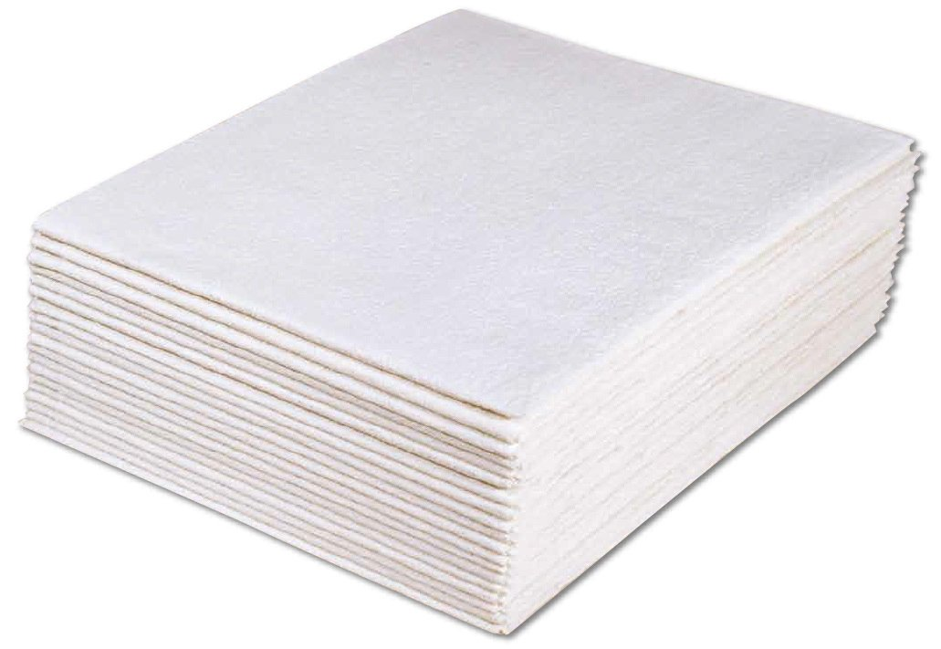 Avalon Papers 317 Drape Sheet, 3-Ply Tissue, 40'' x 72'', White (Pack of 50)