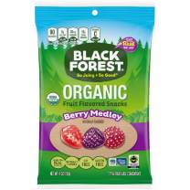 Black Forest Organic Fruit Snacks, Mixed Berry, 4 Ounce, Pack of 12