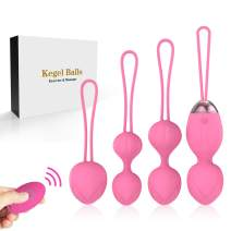 Silicone Kegel Balls for Beginners & Advanced for Pelvic Floor Exercises & Tightening- Y.LOVE 2 in 1 Kegel Exercise Weights & Massage Ball Ben Wa Balls Sets … … …