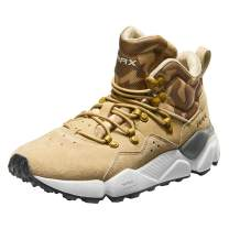 RAX Men's Lightweight Leather Hiking Boots Warm Outdoor Walking Shoe
