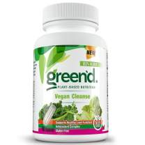Complete Nutrition Green'd Vegan Cleanse, Natural Detox, Liver Support, Cleansing and Detoxifying, Dandelion Root, Turmeric Root, Ashwagandha, 40ct Capsules