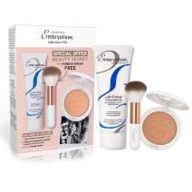 Embryolisse Beauty Secret Box - (Lait Creme Concentre 2.54 Fl.oz + Radiant Complexion Compact Powder 12g/0.42oz + Makeup Brush) - Limited Edition