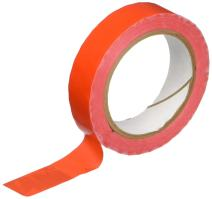 """TapeCase TC414 0.375"""" X 72YD RED - UPVC, Red Bag Sealing Tape, 3/8"""" Wide, 72 yd. Length, Red (1 ROLL)"""