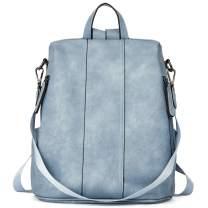 BROMEN Women Backpack Purse Leather Fashion Backpack Travel College Daypack Bag