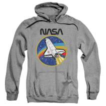 Popfunk NASA Space Logo Shuttle Pullover Hoodie Sweatshirt & Stickers