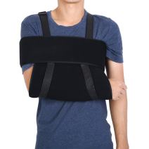 Arm Support Sling Brace, Adjustable Medical Arm Shoulder Support Sling Immobilizer Brace Fractured Arm Strap for Dislocated Fractured Humerus Humerus(S)