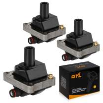 QYL 3Pcs Ignition Coil Pack Replacement for Mercedes-Benz S320 C230 SLK230 C280 E320 2.3L 3.2L UF527 0221506002 UF137 0001587503