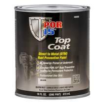 POR-15 46008 Top Coat Silver Paint 16. Fluid_Ounces