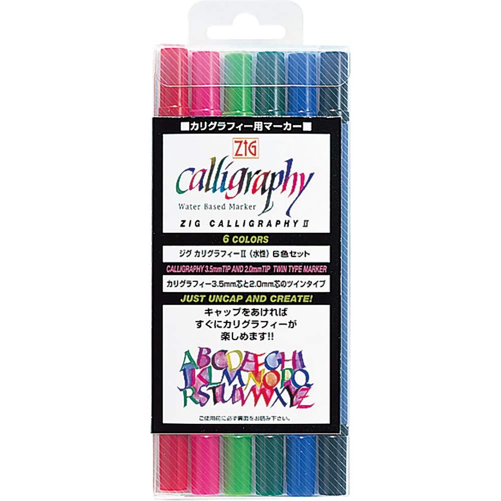 ZIG Calligraphy Pens (6)