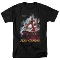 Army of Darkness Movie Poster Bruce Campbell T Shirt & Stickers