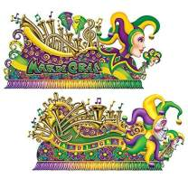 Mardi Gras Float Props Party Accessory (1 count) (2/Pkg)