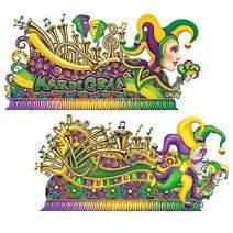 Mardi Gras Float Props Party Accessory (1 count) (2/Pkg)